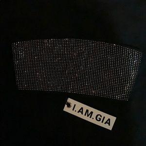 I.AM.GIA. Black Aurora Bandeau